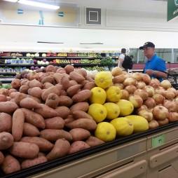 Körülnéztünk a közeli supermarketben. New Yorkban nem nagyon van ilyen