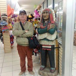 Lali a gift shop-ban, Meramec Caverns