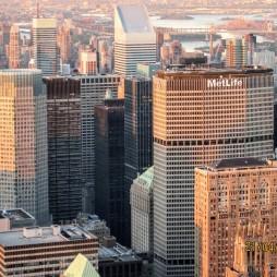 A valamikori Pan Am Bldg., ma a MetLife biztosító székháza. A new yorkiak továbbra is PanAm-háznak hívják.