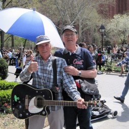Utcai rocker a Washington Square-en