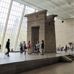The Temple of Dendur a MET-ben