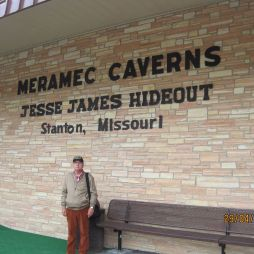 Jesse James, a vadnyugati bandita itt bújkált