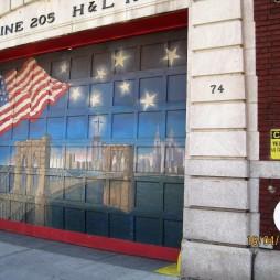A 205-ös tűzoltóállomás Brooklynban