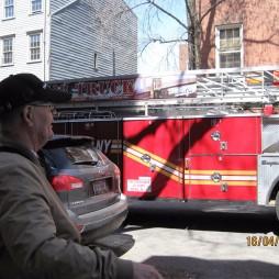 Lali és a tűzoltó autó