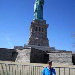 Lali a Szabadság szobornál