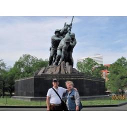 Lali és én az Iwo Jimánál