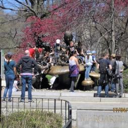 Alice Csodaországban mászós szobor, Central Park