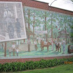 Amikor Roosevelt elnök járt itt, Mural City Cuba