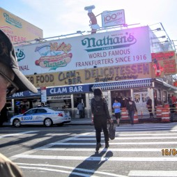 Nathan's Famous, Coney Island