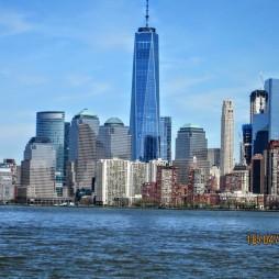 Manhattan az Ellis Island felől