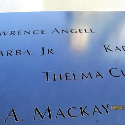 A 9/11 Memorial 3000 név