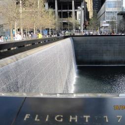 A 9/11 Memorial a 175-ös járat...