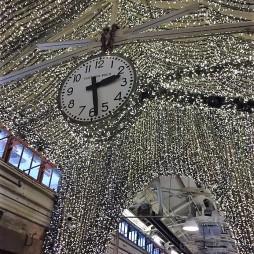 Karácsonyi hangulat áprilisban., Chelsea Market.