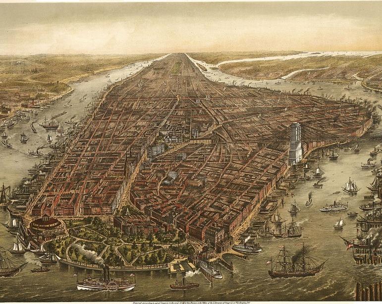 NYC 1870 körül