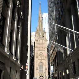 A Trinity Church a Wall St.-en