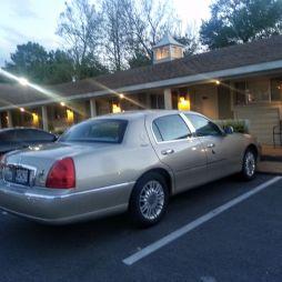 A motelszobánk a Best Western Rail Haven-ben, Springfield, MO