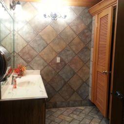 A mosdó, Groom, TX