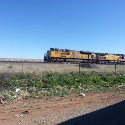 Vonatnéző/Railfanning... némelyik 1 mérföld hosszú