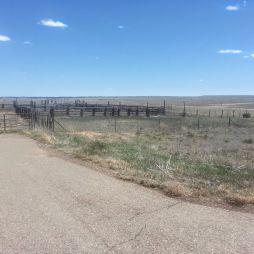 Öreg, elhagyott ranch