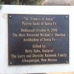 Santa Fe Katedrális, Szabó Betti szobrász ajándéka