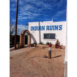 Sanders, AZ. A Lali miután nem talált romokat leült élvezni az arizónai nap melegét