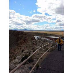 Sétaút a Meteor Craternél, AZ
