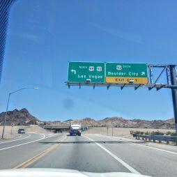 Úton Las Vegas felé