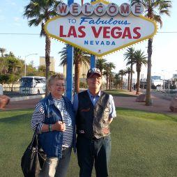 """A híres """"Las Vegas Sign"""" 1959 óta áll itt, de ez itt hivatalosan már nem is Las Vegas, hanem a város déli elővárosa Paradise."""