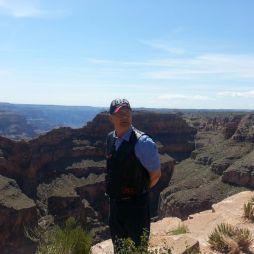 Lali a kanyonnál