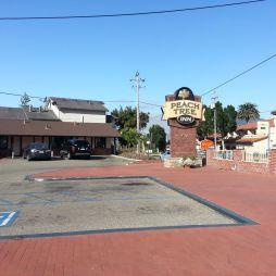 A Peach Tree Inn motel, San Luis Opispo, CA. Megyünk tovább a kaliforniai parti úton (Route 1).
