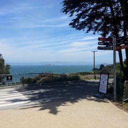 A távolban az Alcatraz sziget