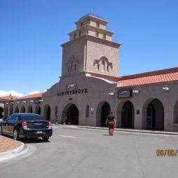 AMTRAK-vasútállomás és a Greyhound buszpályaudvara, Albuquerque