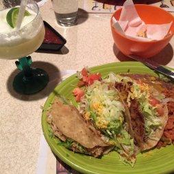 Taco, csirke és marha.