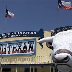 A Big Texan kajázó