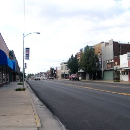 Valamikori hadiút a 66-os egyik szakaszán, Baxter Springs, KS