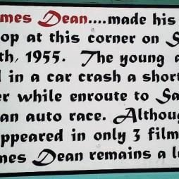Az utolsó hely, ahol James Dean megállt, Blackwell's Corner
