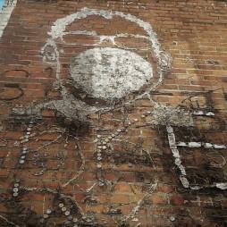 A Bubblegum Alley művészi alkotások helye is, San Luis Obispo :)