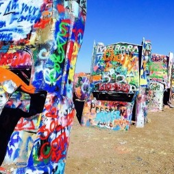 Cadillac Ranch, Amarillo, TX I-44/Route66 West Exit 62A