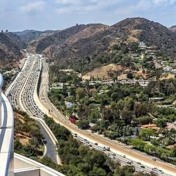 Az észak-déli Interstate 405-ös San Diego autópálya