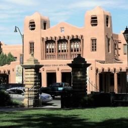 Az Indián Művészetek Múzeuma (Museum of Indian Arts), Santa Fe, NM
