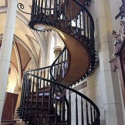 The Miraculous Staircase, Loretto Chapel, Santa Fe