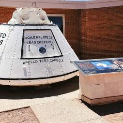 Egy Apollo szimulációs kabin