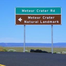 Meteor Crater Road, AZ