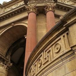 Palace of Fine Arts, SF. Építészeti stílus: Baux-Arts