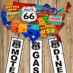 In Memoriam Route 66