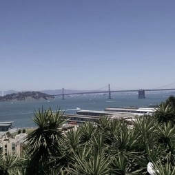 SF Maritime Park, séta a Fisherman's Wharf felé.