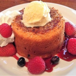 Vajas süti, afféle muffin fagyival
