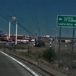 Beértünk Santa Rosa-ba, NM