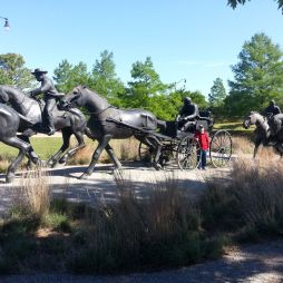 Oklahoma Centennial Land Run Monument