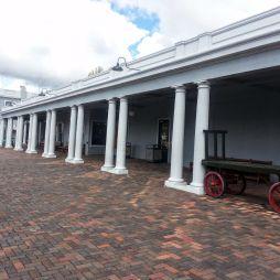 Az williamsi vasútállomás épülete